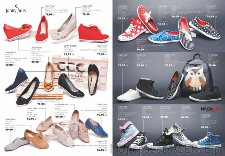 7bb2822ff7043 Gazetka CCC - oferta wiosna 2014 obuwie damskie modne w tym sezonie ·  Wiosenna kolekcja butów JENNY FAIRY prezentuje buty na koturnach.