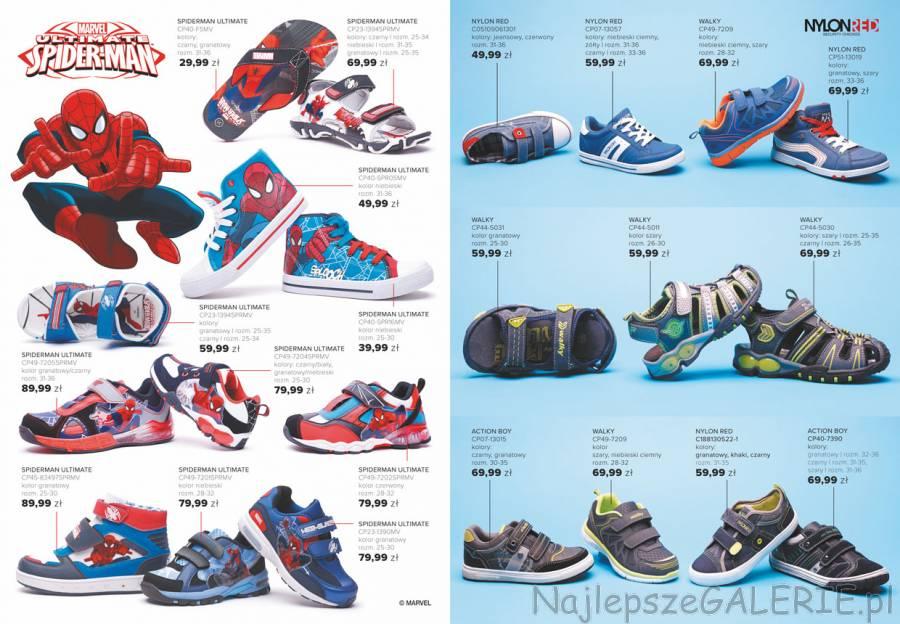 a40d0222e394e Chłopięca kolekcja CCC SPIDERMAN ULTIMATE to japonki, sandały, .