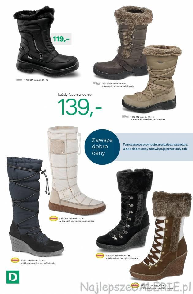 eac4fc89c16c4 Gazetka Deichmann kolekcja obuwia zima 2012 październik listopad ...