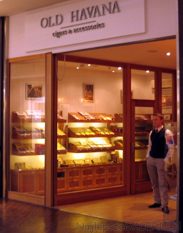 Old Havana cigars & accessories - cygara i akcesoria