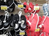 Auchan buty wiosna 2013, kolekcja obuwia baleriny, czółenka