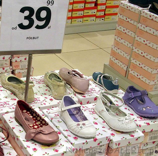 Wiosenne buty dla dzieci NajlepszeGALERIE.pl