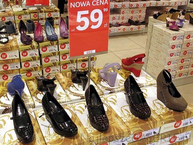 6d2438d8 Buty damskie, cena 60 PLN. Wyprzedaż letnia obuwie CCC. Kolekcja letnia 2010