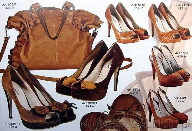 093a0cd3b402e Czółenka i szpilki - obuwie Venezia, kolekcja wiosna lato 2011. Torba  damska cena .