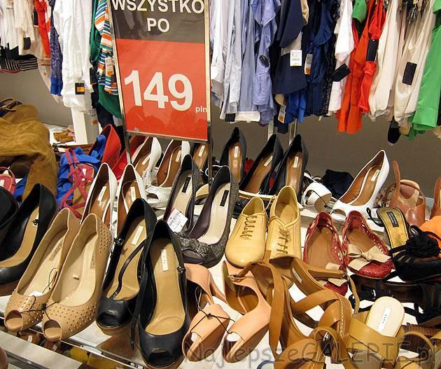 Zara buty wyprzedaż 2012 NajlepszeGALERIE.pl