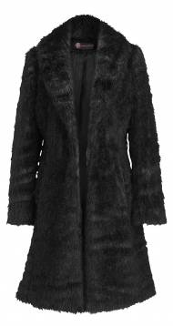 F&F_ladies_Jetsetter_Full fur coat - black_300 zl, ff kolekcja ...