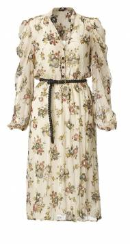 F&F_ladies_Woodland_Cream floral dress_valid, 100 zl, ff kolekcja ...