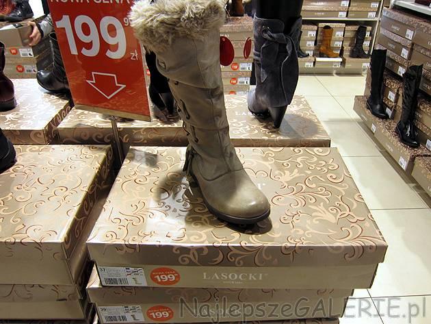Buty Lasocki CCC wyprzedaż zimowa 20112012, przeceny